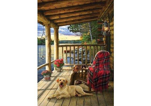 Cobble Hill Cabin Porch  - 1000 pièces