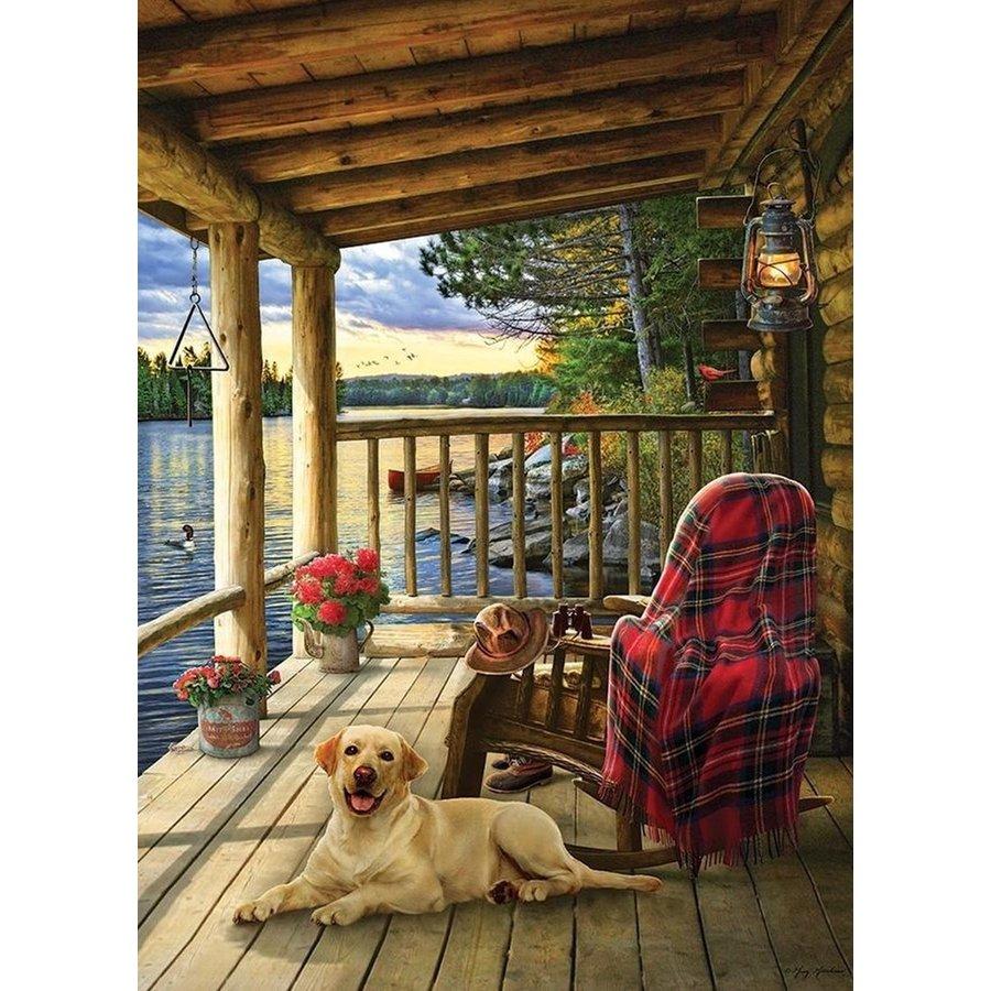 Cabin Porch - puzzel van 1000 stukjes-1