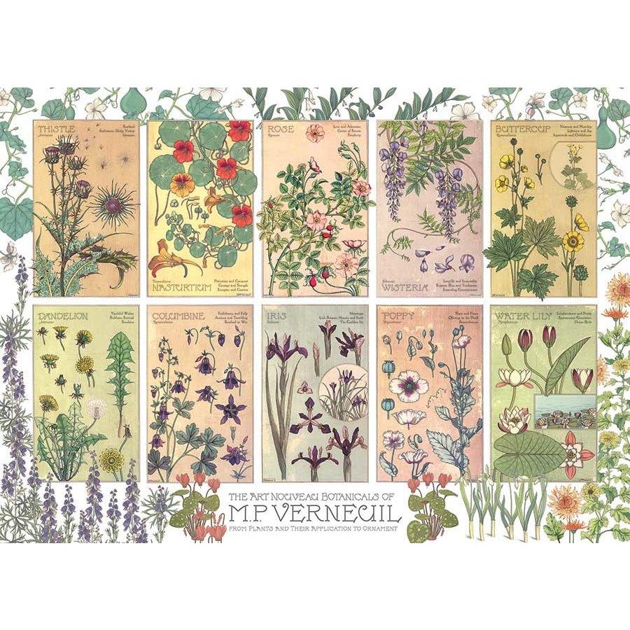 Botanische kruiden door Verneuil - puzzel van 1000 stukjes-1