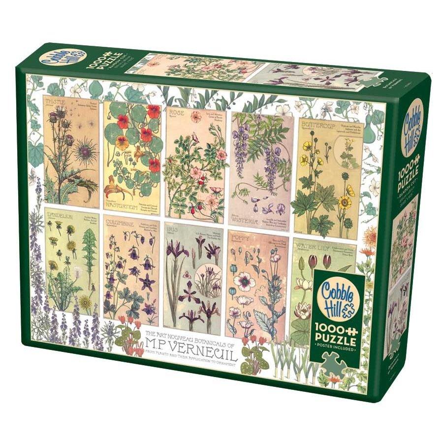 Botaniques par Verneuil - puzzle de 1000 pièces-2