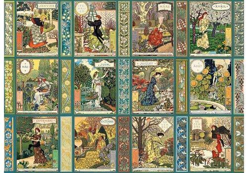 Cobble Hill Jardiniere : Le calendrier du jardinier - 1000 pièces