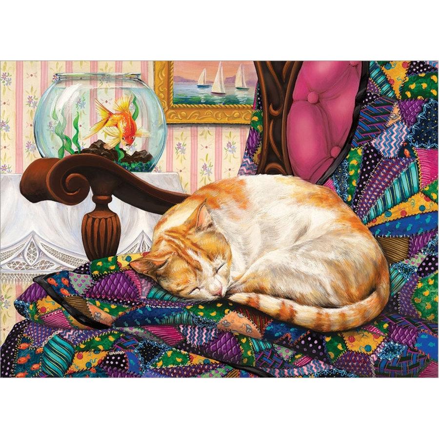 Beaux rêves - puzzle de 1000 pièces-1