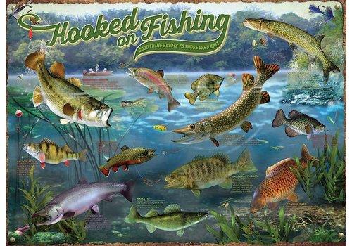 Cobble Hill Verslingerd aan vissen - 1000 stukjes