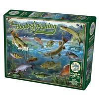 thumb-Verslingerd aan vissen - puzzel van 1000 stukjes-2