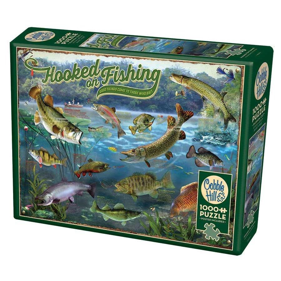 Verslingerd aan vissen - puzzel van 1000 stukjes-2