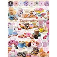 thumb-L'heure des Donuts - puzzle de 1000 pièces-1
