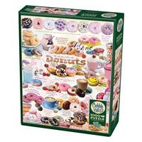 thumb-L'heure des Donuts - puzzle de 1000 pièces-2