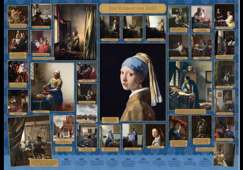 Cobble Hill Vermeer - 1000 pièces