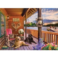 thumb-Welkom in het Lake House - puzzel van 1000 stukjes-1