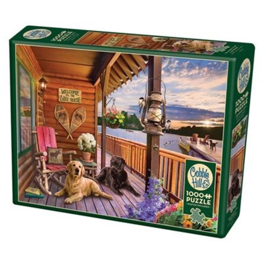 Welkom in het Lake House - puzzel van 1000 stukjes-2