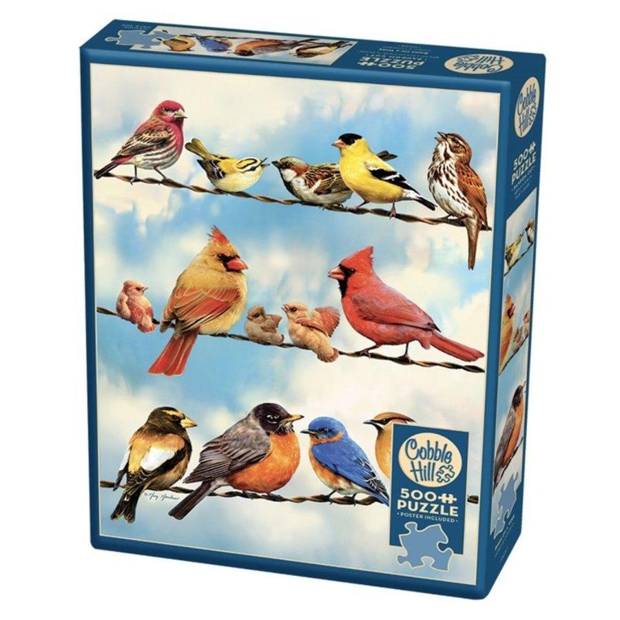 Oiseaux sur le fil - puzzle de 500 pièces XL-2