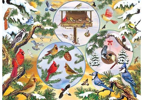 Cobble Hill Magie des Oiseaux d'hiver - 500 pièces XL