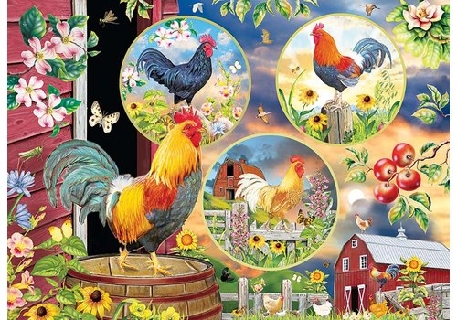 Cobble Hill Rooster Magic - 500 XL pieces