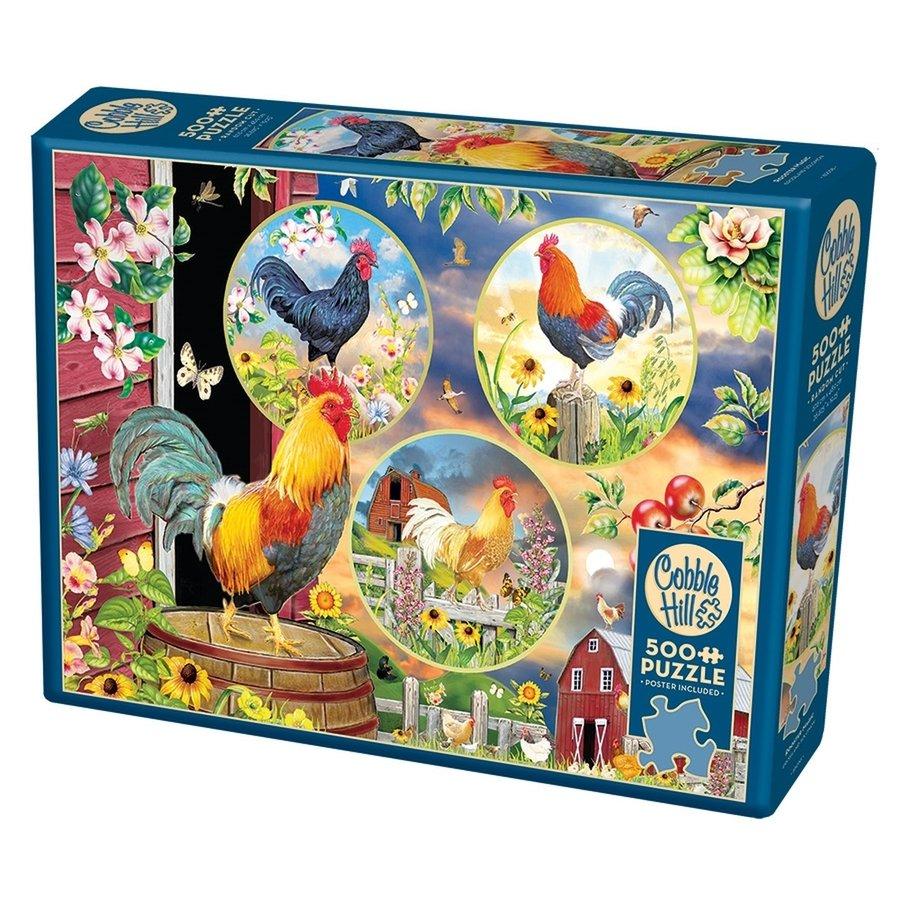Magie van de Haan - puzzel van 500 XL stukjes-2