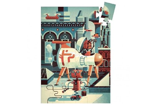 Djeco Bob the Robot- 36 pieces