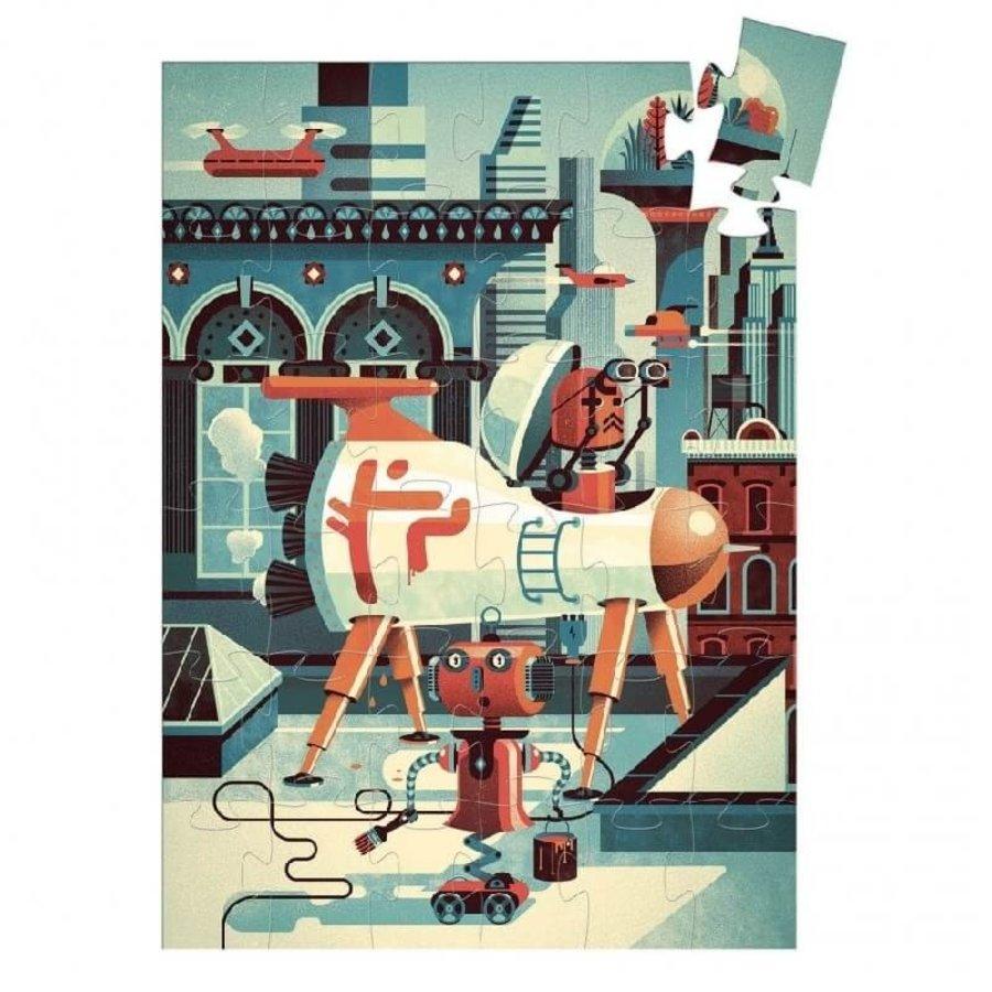 Bob le Robot - puzzle de 36 pièces-2