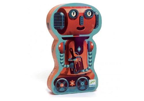 Djeco Bob de Robot - 36 stukjes