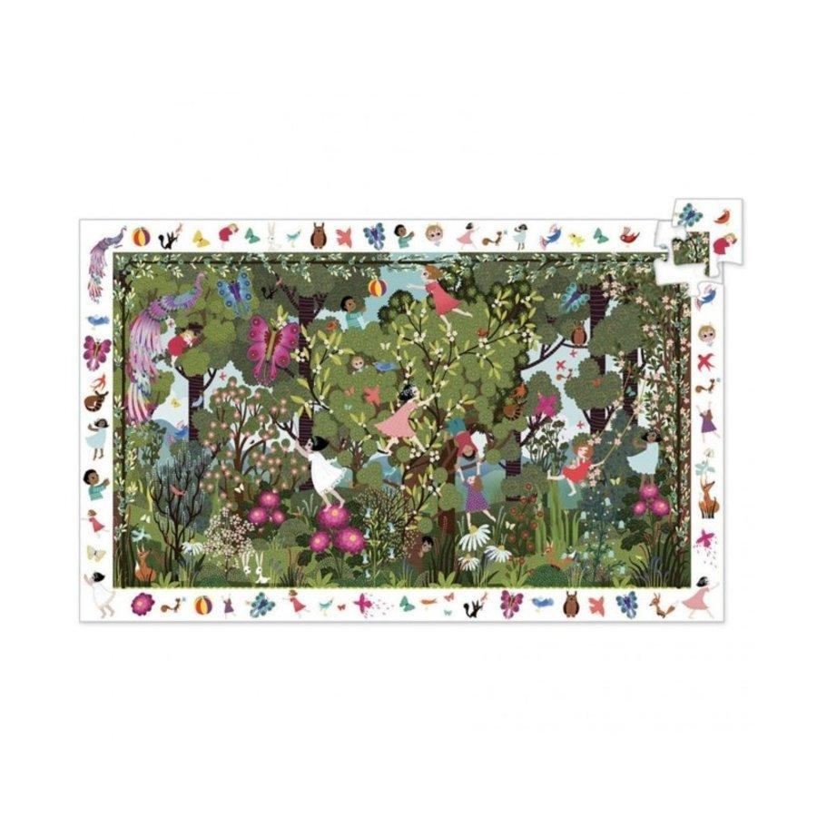 Speelplezier in de tuin - Observatie puzzel van 100 stukjes-1