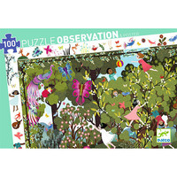 thumb-Speelplezier in de tuin - Observatie puzzel van 100 stukjes-2