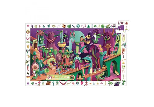Djeco In a Videogame - 200 pieces