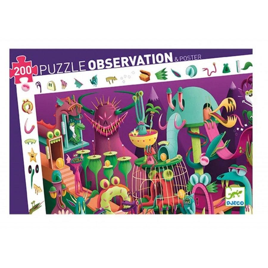 In een Videospel - Observatie puzzel van 200 stukjes-2