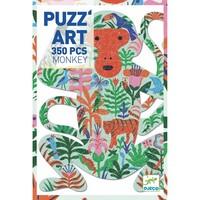 thumb-De kleurrijke Aap - puzzel van 350 stukjes-2