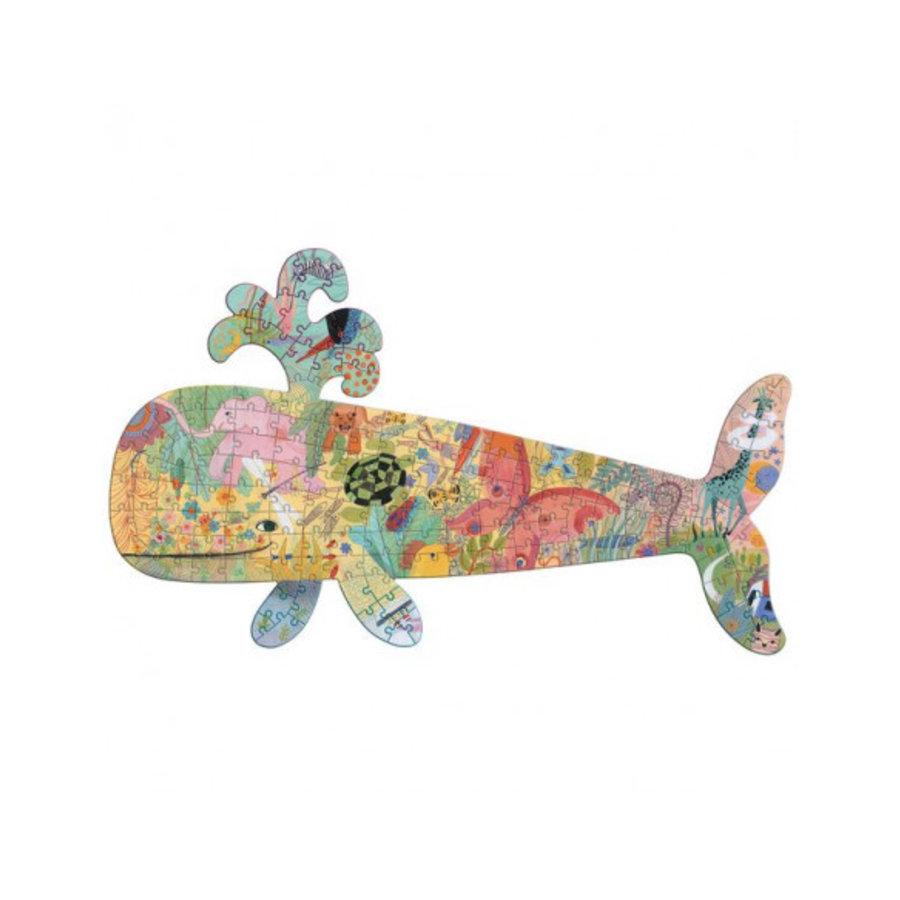 De kleurrijke Walvis - puzzel van 150 stukjes-1