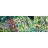 thumb-Uilen en Vogels - puzzel van 1000 stukjes - Panorama-2