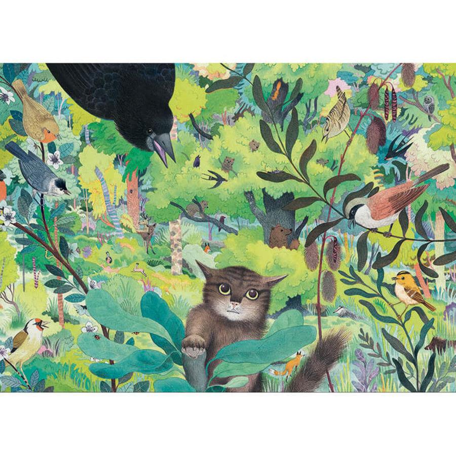 Uilen en Vogels - puzzel van 1000 stukjes - Panorama-1
