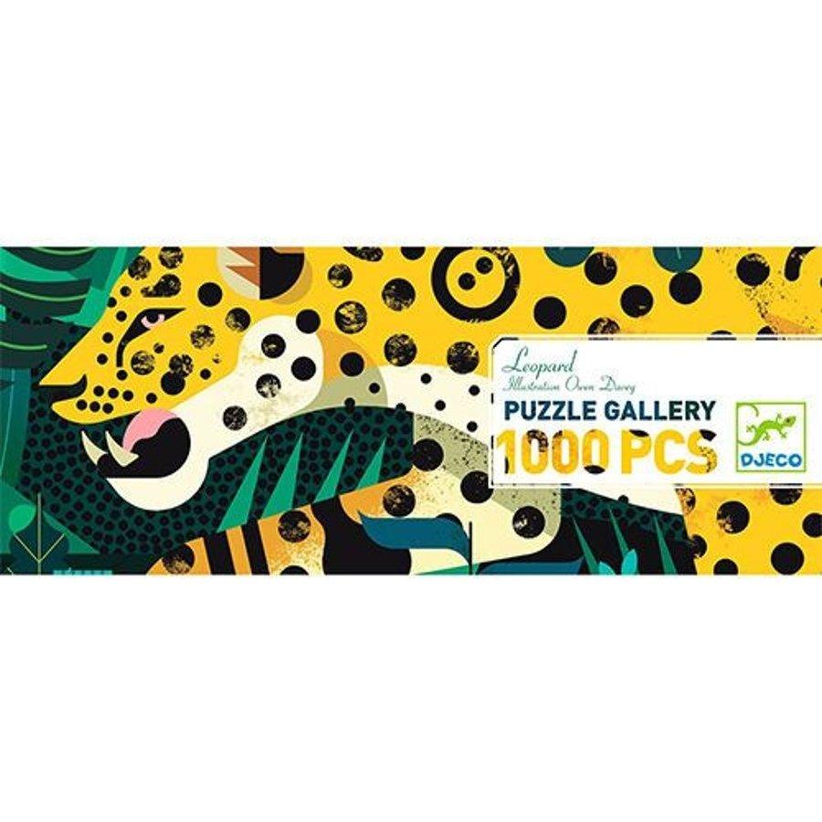 Luipaard  - puzzel van 1000 stukjes - Panorama-2