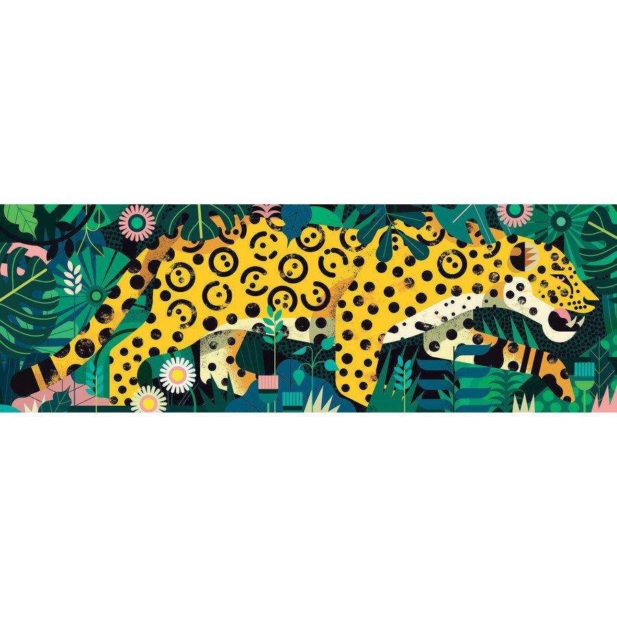 Luipaard  - puzzel van 1000 stukjes - Panorama-1
