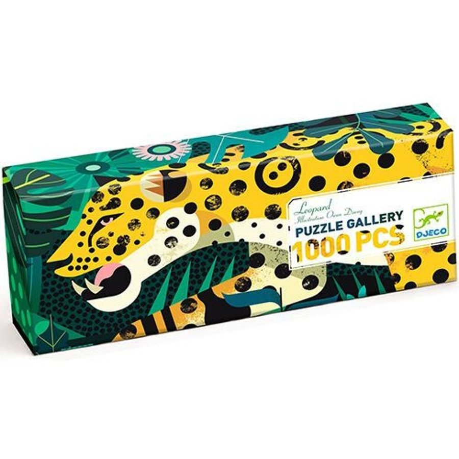 Luipaard  - puzzel van 1000 stukjes - Panorama-3