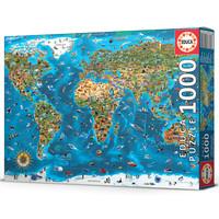 thumb-1000 Merveilles du monde - puzzle de 1000 pièces-1