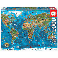thumb-1000 Merveilles du monde - puzzle de 1000 pièces-3