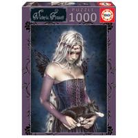 thumb-Ange de la mort - puzzle de 1000 pièces-1