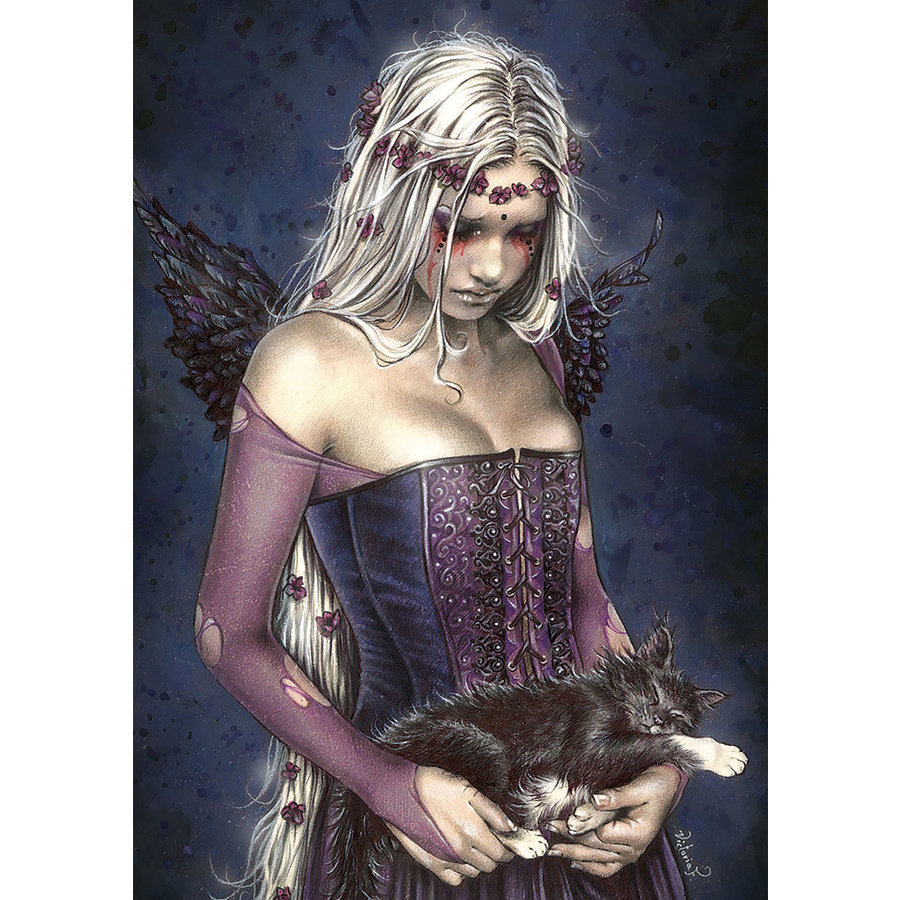 Ange de la mort - puzzle de 1000 pièces-2