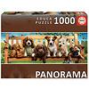 Educa Puppies op de bank - puzzel 1000 stukjes - Panorama