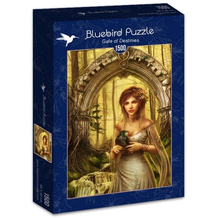 La Porte des Destinées - puzzle de 1500 pièces-2