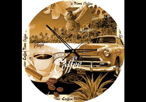 Art Puzzle Puzzle Clock - Coffee Time - 570 pieces