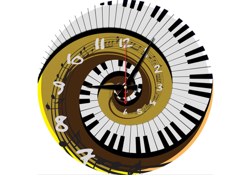 Art Puzzle Puzzle Clock - Rhythm of Time- 570 pieces