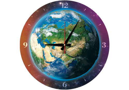 Art Puzzle Puzzle Clock - World of Time- 570 pieces
