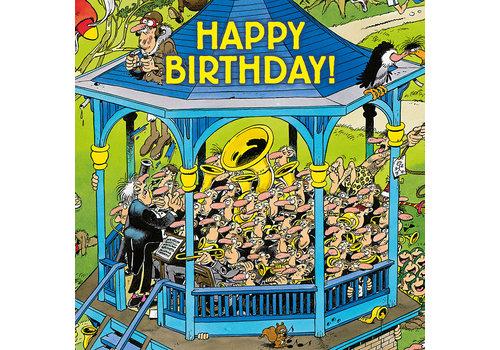 Comello  VIP Jan van Haasteren Wenskaart - Happy Birthday!