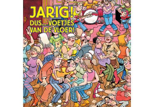 Comello  VIP Jan van Haasteren Wenskaart - Jarig!
