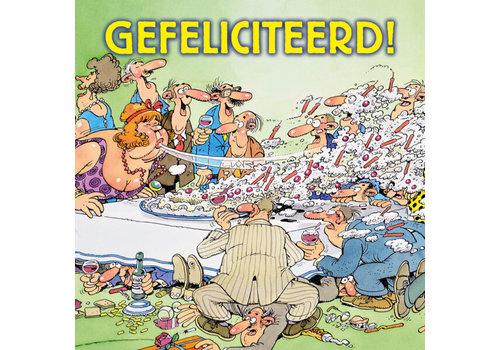 Comello  VIP Jan van Haasteren Carte de Voeux - Gefelicitaart!!!