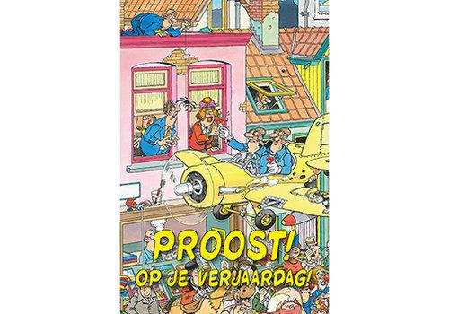 Comello  VIP Jan van Haasteren Carte de Voeux - Proost! Op je verjaardag