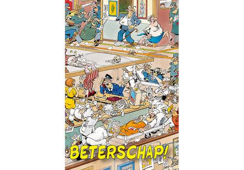 Comello  VIP Jan van Haasteren Wenskaart - Beterschap!