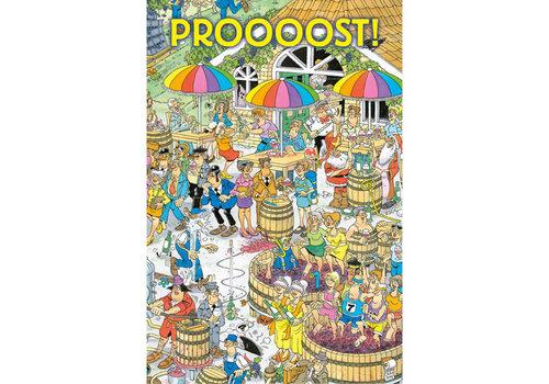 Comello  VIP Jan van Haasteren Carte de Voeux - Proooost!