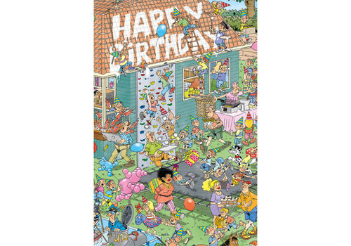Comello  VIP Jan van Haasteren Greeting Card - Happy Birthday!