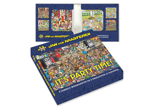 Comello  Jan van Haasteren Greeting Card Box - It's Party Time!
