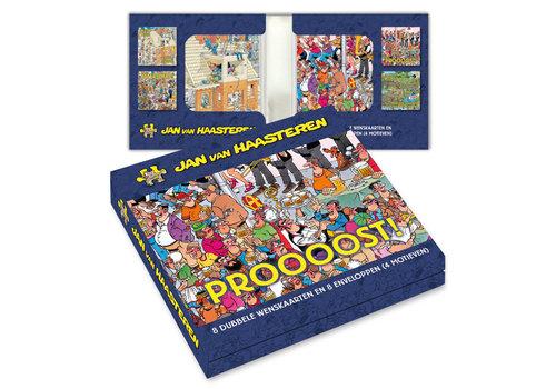 Comello  Jan van Haasteren Greeting Card Box - Proooost!!!